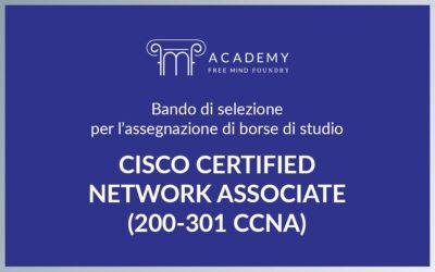FMF Academy: Borse di studio per il corso Cisco Certified Network Associate (200 – 301 CCNA)